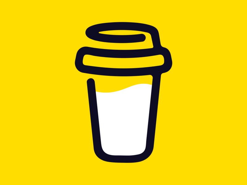 new logo, who dis? ☕ illustration logo design icon branding buymeacoffee logo