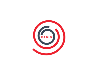 96 Radio Logo radio logo spiral logo monogram logo 96 logo