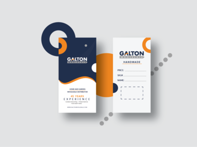 GALTON tag design