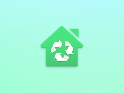 Icon for recycle app vector design ui recycle icon app challenge