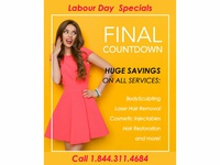 Labour Day Specials