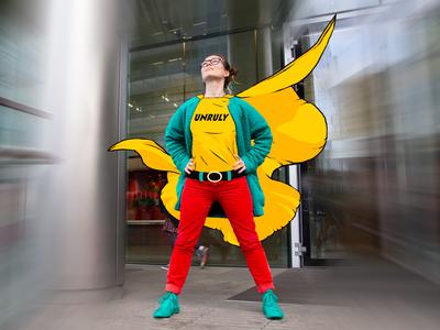 Unruly Superhero
