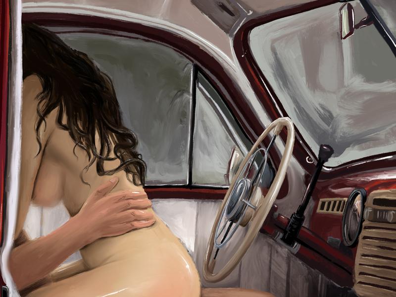 Erotic Book book illustration publish design procreate art illustraion design art book art