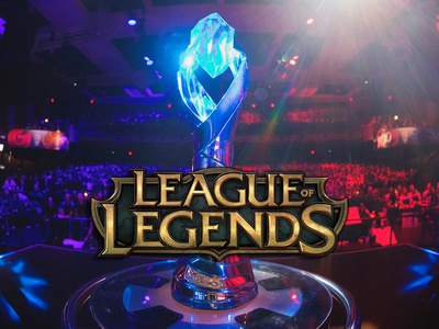 League of Legends NA Championship Trophy