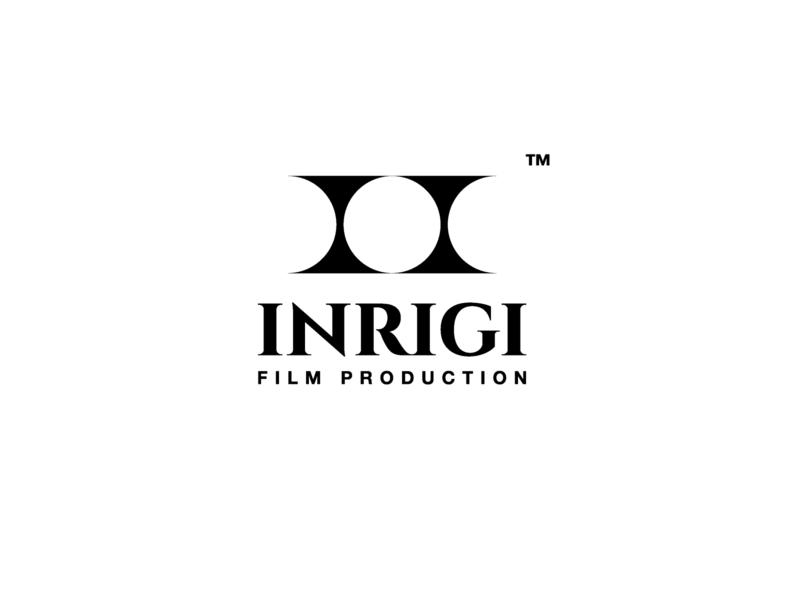 inrigi film production logo black design challenge logo design graphicdesign minimal illustrator illustration icon branding film logo film production