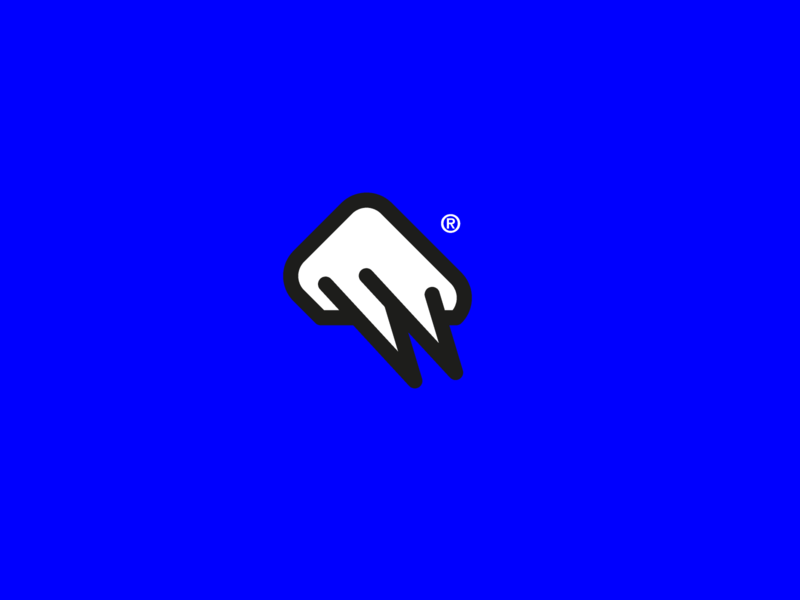 Thunder logo thunderlogo theme logoinspiration minimalism minimalist day15 logo design logodesign thunder blue white vector illustration challenge minimal branding logo icon design