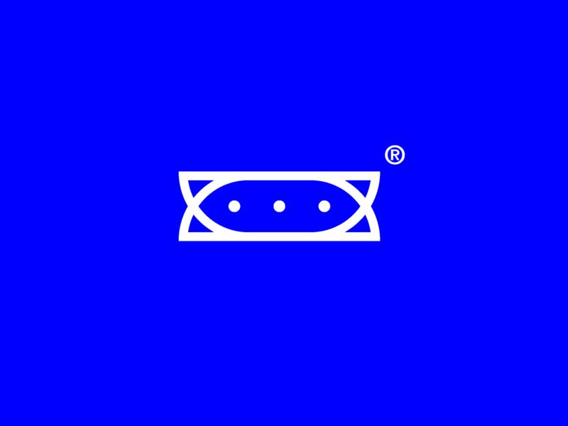 icon brand identity brand blue white challenge illustration vector illustrator minimal branding logo icon design