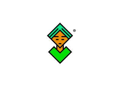 Egyptian man icon character design character illustration challenge vector illustrator minimal design logo branding egyptian egypt icon
