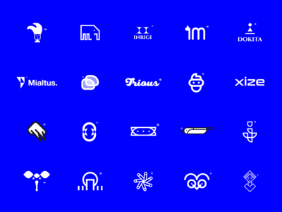 Logos & Marks marks logofont logo design icons collection logotype logos logodesign logofolio logo design graphicdesign illustration challenge vector illustrator minimal design branding logo icon