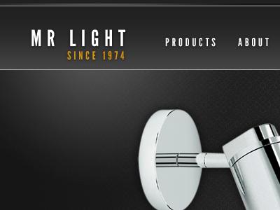 Mr light navigation black dark glow light