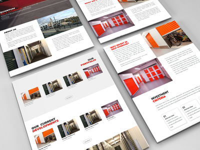 Website Design | Self Storage Investment Management Firm