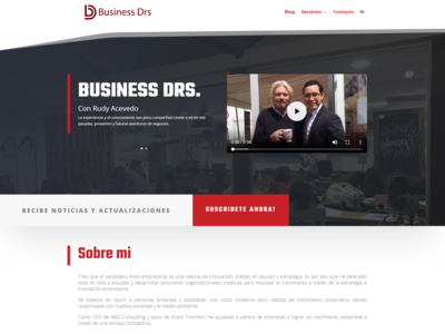 Website Design | Business Consultant
