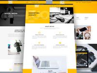 Web Design | Online MArketing Agency using Divi