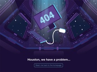 404 space page