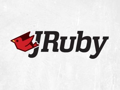 Jruby jruby logo branding logotype wordmark