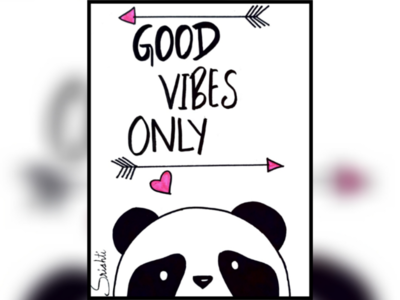 Good vibes only✨- A good vibe state of mind!