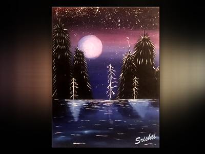 Cosmos - Canvas Painting