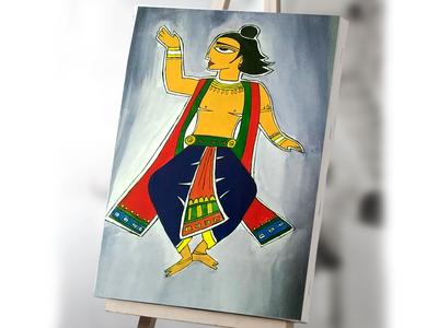 Jamini Roy Painting Canvas