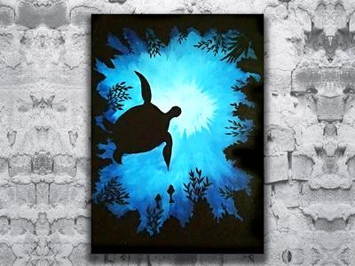 Canvas Turtle