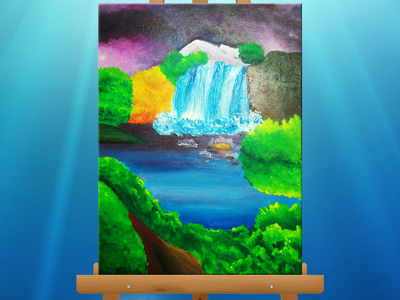 Waterfall Canvas