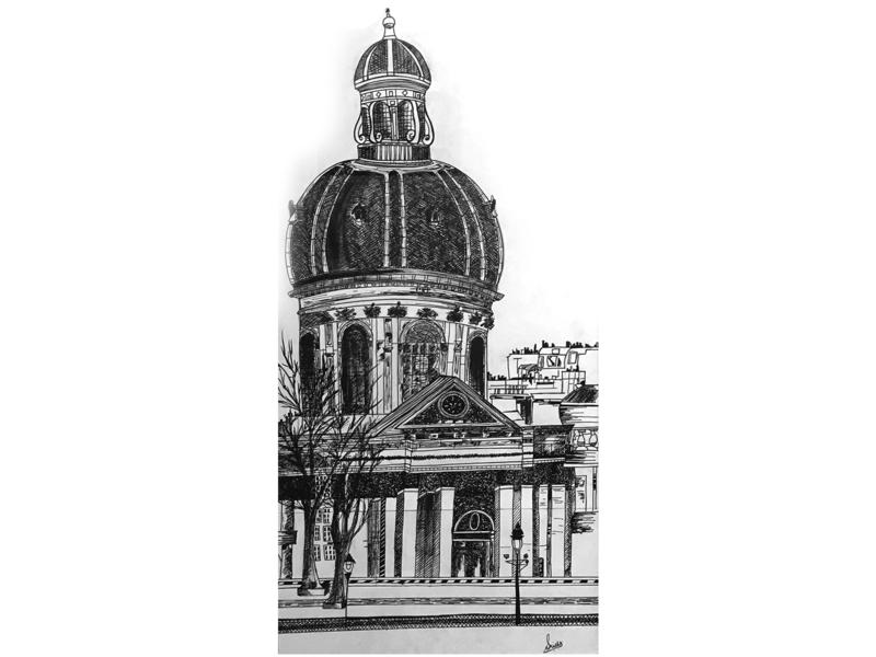 Monument Sketch monument sketch illustration design creative artwork art 2d