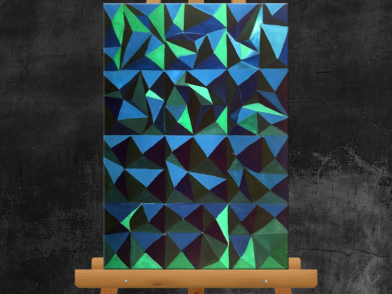 Pattern - Acrylic Painting acrylic painting painting illustration design creative artwork art