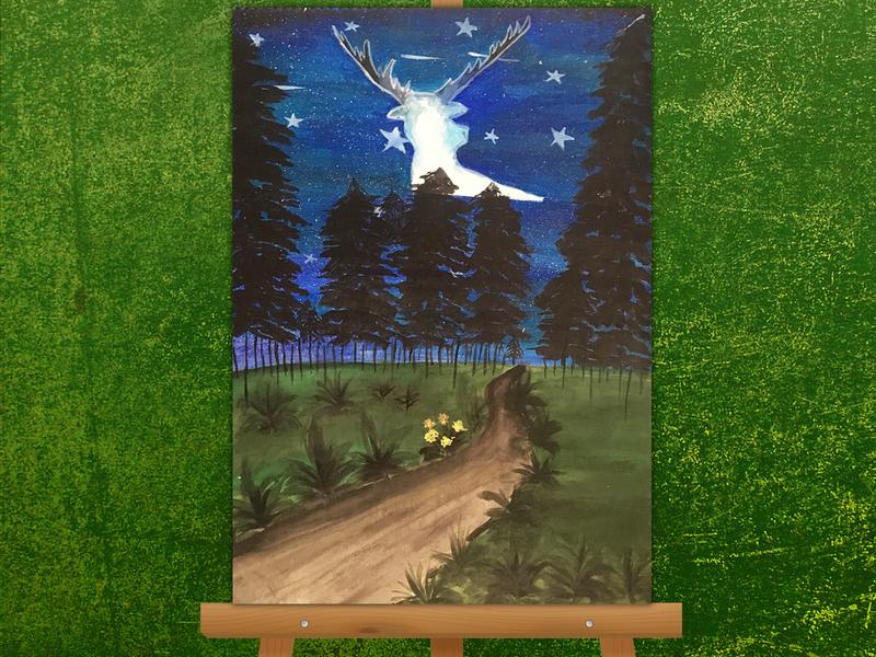 Cosmos - Acrylic Painting acrylic painting painting 2d design creative artwork art