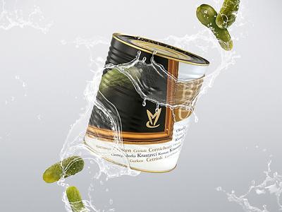 Keystone Value Concept - Product photomontage pickled cucumber product photography photomontage imao keystone value