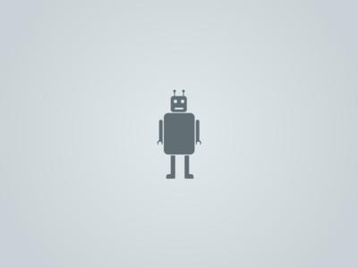 Robot robot analytics icon vector