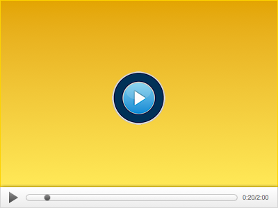 Video Player video player design