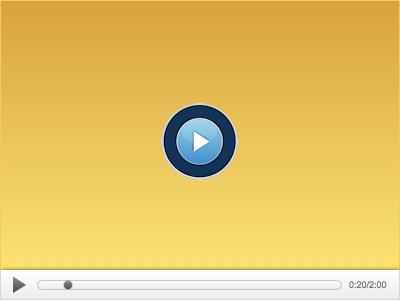 Video Player video player design
