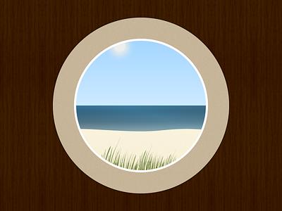 Coast Coaster dunes illustration ocean sea beach coast playoff coaster