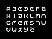 High-tech typeface