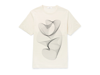 Decorative blend shape t-shirt design