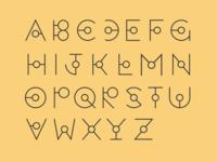 Alien typeface
