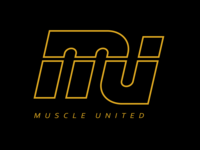 Muscle United Fitness Center logo