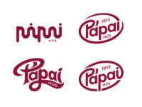Pápai Hús logo designs