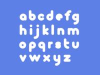 Minimal monoline typeface