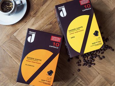 Danesi pack packaging coffee cafe danesi