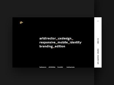 egidiofilippetti.it flat design responsive ui identity gold white black minimal site web new