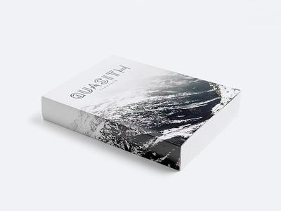 Quasith mockup book minimal download free restyling font