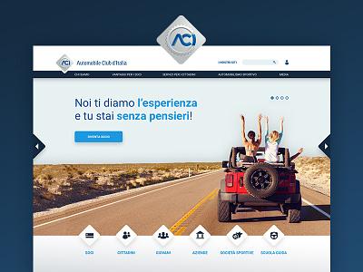 Aci sketch site web aci italy car club