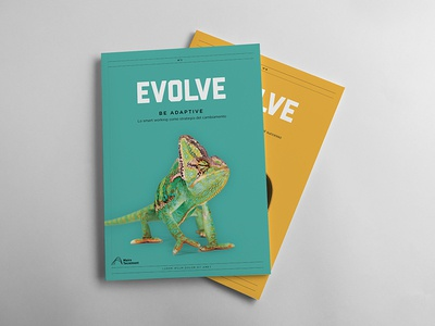 Evolve indesign print graphic design minimal colours maire tecnimont evolve magazine