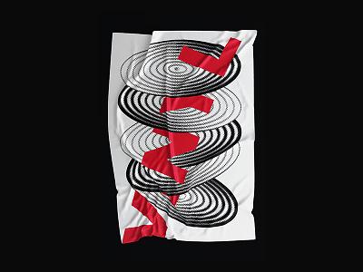 Vinyl minimal type vinyl poster
