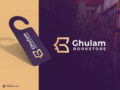 Bookstore Logo islamic logo logo simple logo design logo great logo guide logo corporate logo grid logo inspiration logo premium logo elegant logo gold logo awesome logo g logo book logotype ghulam g logo bookstore logo bookstore booklogo