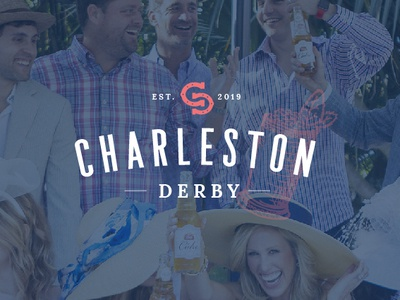 Charleston Derby Party Event Branding