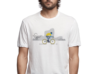 The Cyclist Illustration