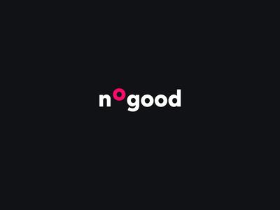 Nogood logo branding logo