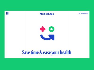 Medical App pharmacy medical logo ui branding