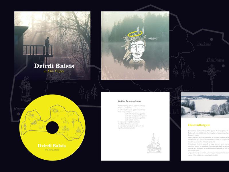 Album cover for language dialect songs album cover design album cover print design print design branding